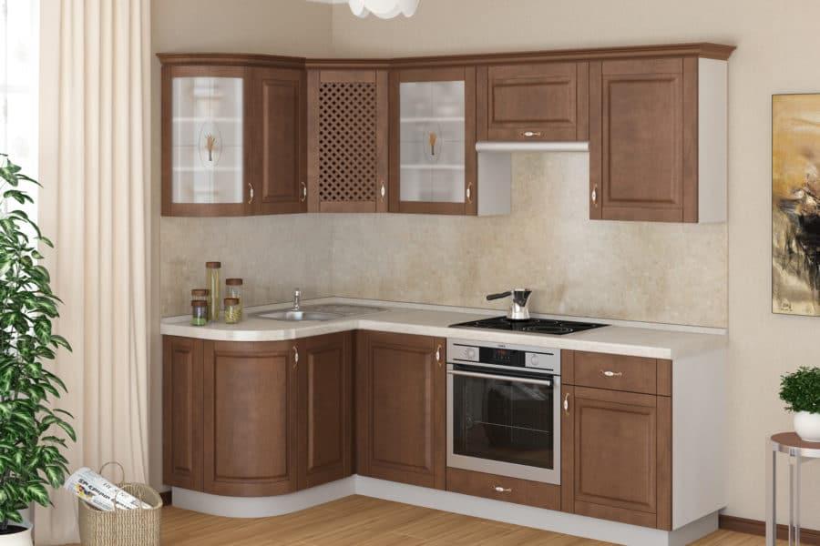 Кухня угловая Массив-Люкс 1335х1600 фото | интернет-магазин Складно
