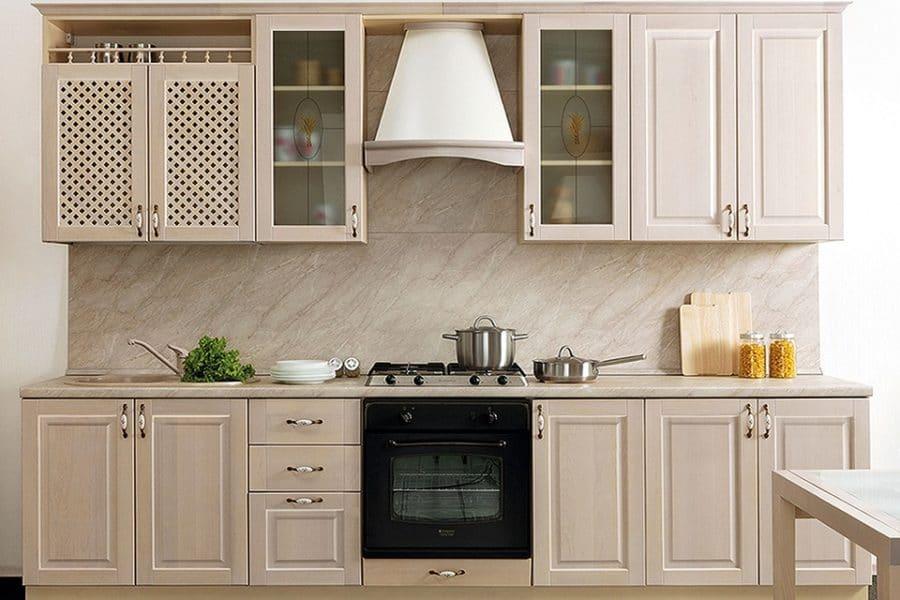 Кухонный гарнитур Массив-Люкс 2400 фото | интернет-магазин Складно