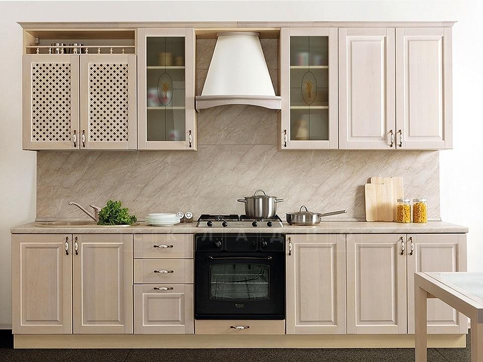 Кухонный гарнитур Массив-Люкс 2400 фото 1 | интернет-магазин Складно
