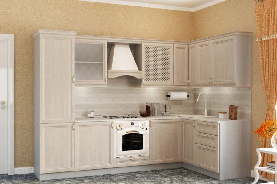 Кухня угловая Рамочная 1600х2300 фото | интернет-магазин Складно