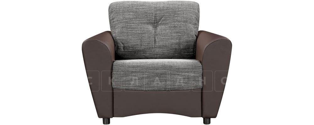 Кресло Амстердам коричневое с серым фото 2 | интернет-магазин Складно
