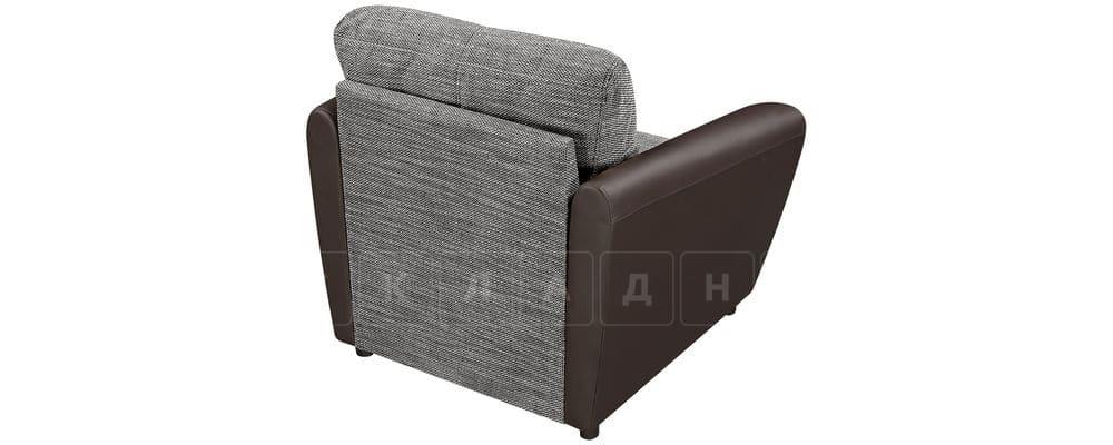 Кресло Амстердам коричневое с серым фото 3 | интернет-магазин Складно