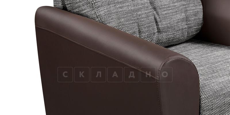 Кресло Амстердам коричневое с серым фото 4 | интернет-магазин Складно