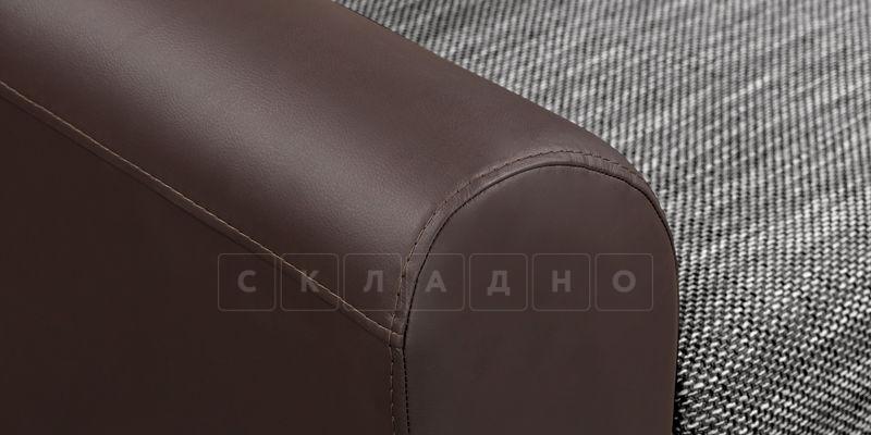 Кресло Амстердам коричневое с серым фото 5 | интернет-магазин Складно