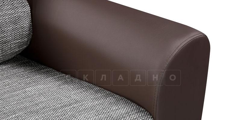 Кресло Амстердам коричневое с серым фото 6 | интернет-магазин Складно