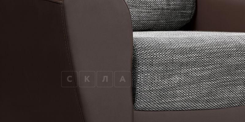 Кресло Амстердам коричневое с серым фото 7 | интернет-магазин Складно