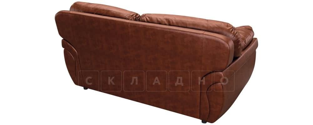 Диван Бристоль кожаный коричневого цвета фото 3 | интернет-магазин Складно
