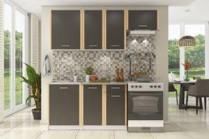 Кухонный гарнитур Бланка 2,0м цвета венге 8970 рублей, фото 1 | интернет-магазин Складно