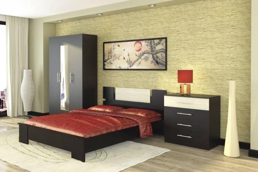 Спальный гарнитур Оливия дуб феррара фото | интернет-магазин Складно