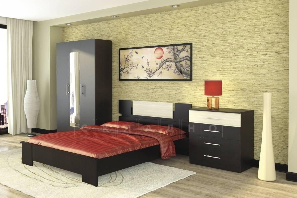 Спальный гарнитур Оливия дуб феррара фото 1 | интернет-магазин Складно