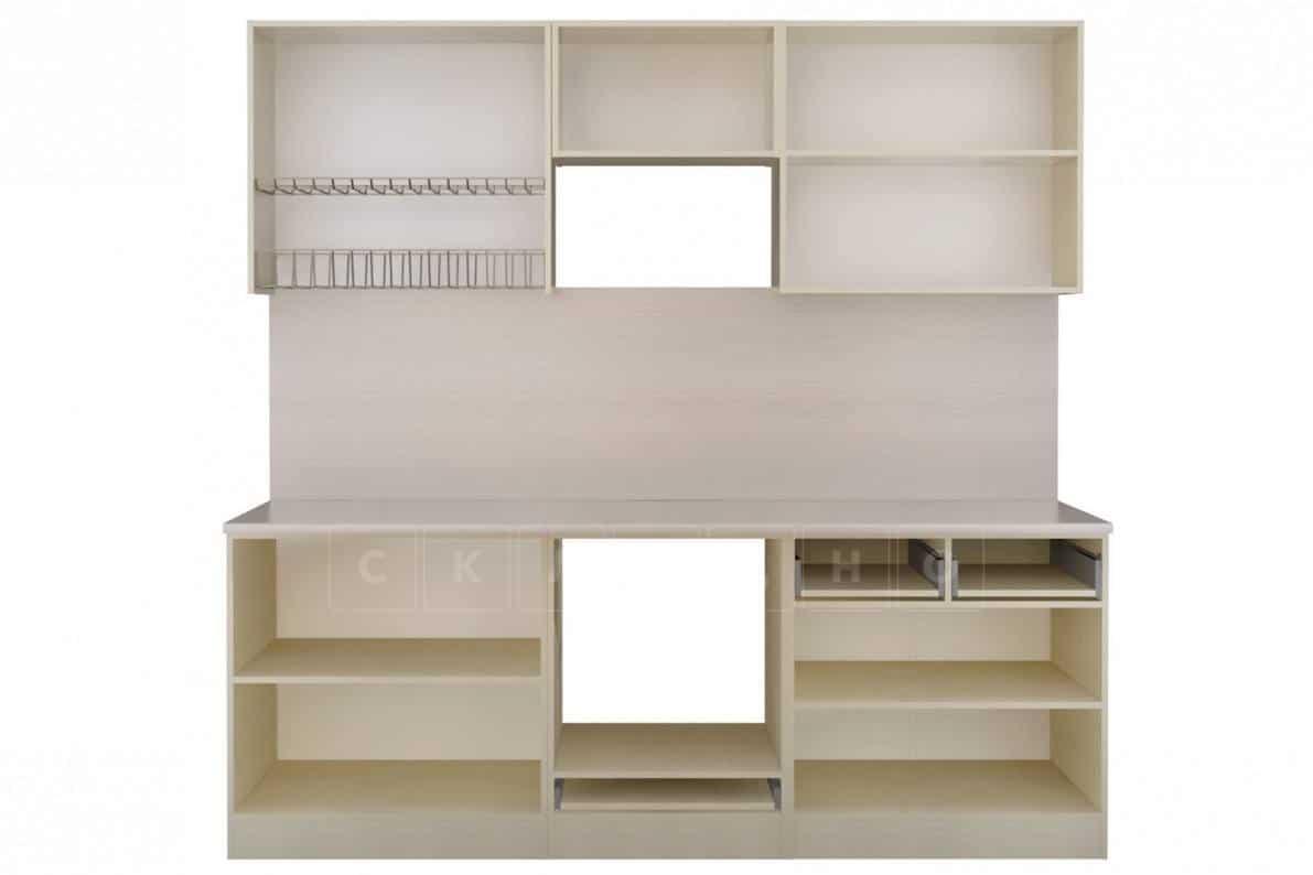 Кухонный гарнитур Изабелла 2,4 м ясень зеленый фото 2 | интернет-магазин Складно