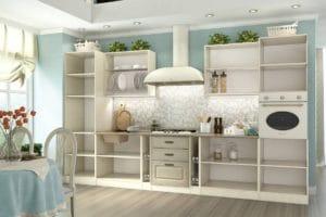 Кухонный гарнитур Ника 3,7 м 85530 рублей, фото 2 | интернет-магазин Складно