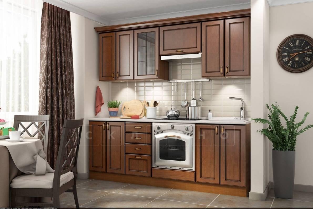 Кухонный гарнитур Эмилия 2200 массив фото 1 | интернет-магазин Складно