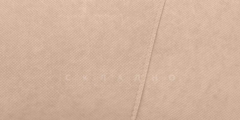 Диван Эвита флок бежевый фото 7 | интернет-магазин Складно