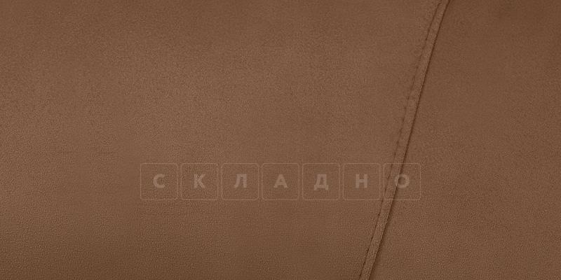Диван Эвита велюр коричневого цвета фото 6 | интернет-магазин Складно