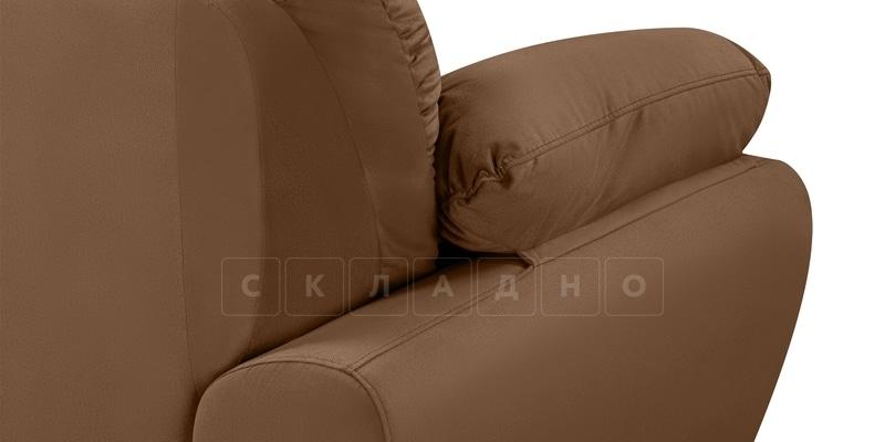 Диван Эвита велюр коричневого цвета фото 7 | интернет-магазин Складно