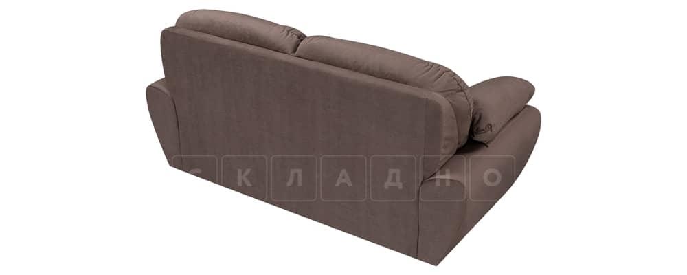 Диван Эвита велюр темно-коричневый фото 3 | интернет-магазин Складно
