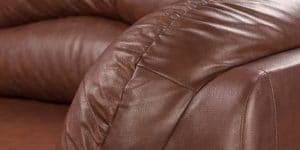 Диван угловой Эвита кожаный коричневый правый угол 75300 рублей, фото 8 | интернет-магазин Складно
