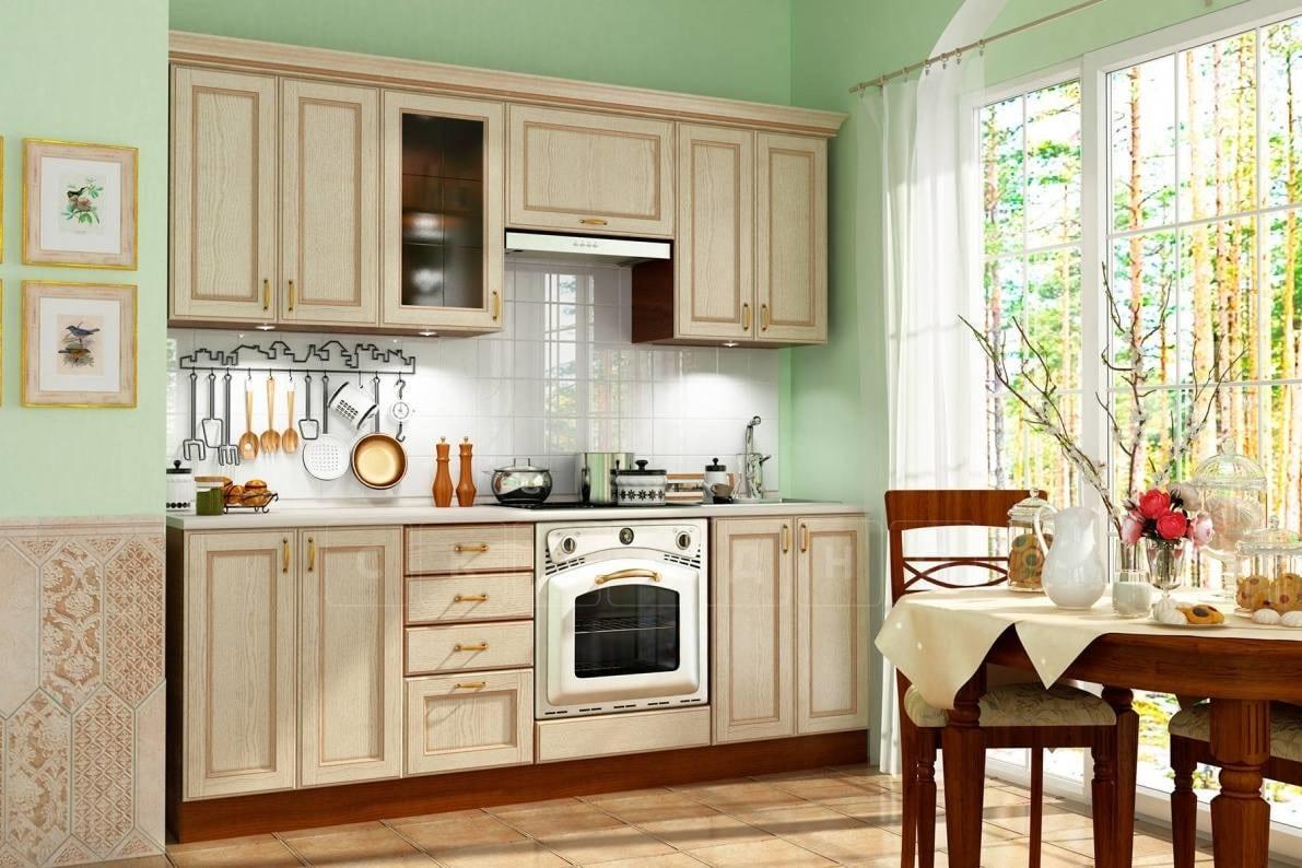 Кухонный гарнитур Эмилия 2200 массив фото 2 | интернет-магазин Складно