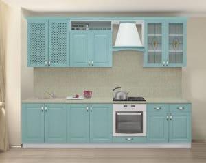 Кухонный гарнитур Массив-Люкс 2400 В  76550  рублей, фото 1 | интернет-магазин Складно
