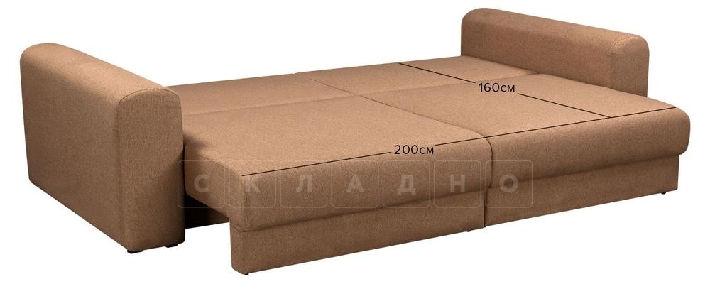 Диван Медисон коричневый 244 см фото 11   интернет-магазин Складно