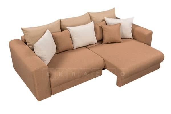 Диван Медисон коричневый 244 см фото 4   интернет-магазин Складно