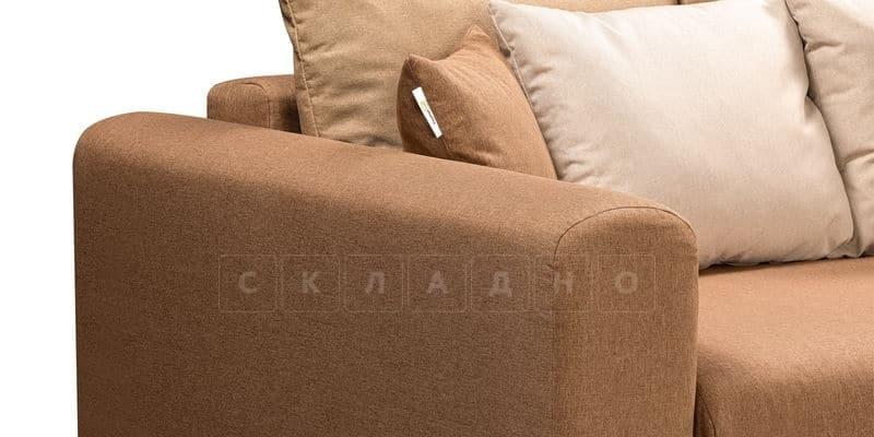 Диван Медисон коричневый 244 см фото 6   интернет-магазин Складно