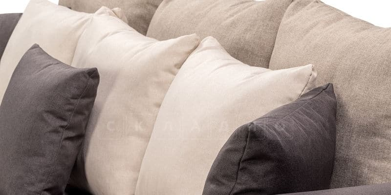 Диван Медисон темно-серый 244 см фото 6 | интернет-магазин Складно