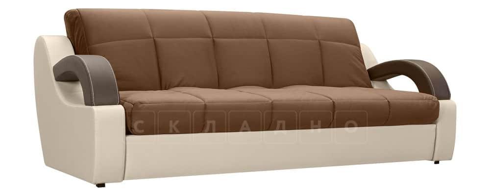 Диван Мадрид велюр коричневый фото 1 | интернет-магазин Складно