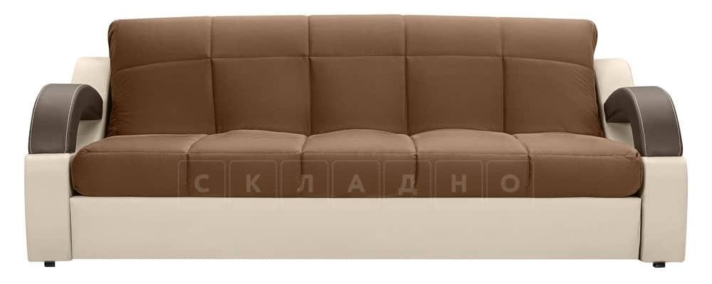 Диван Мадрид велюр коричневый фото 2 | интернет-магазин Складно