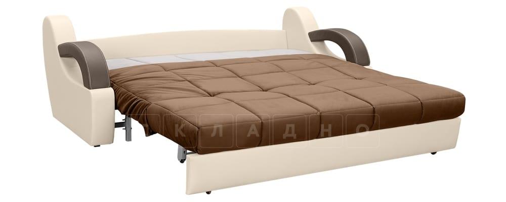 Диван Мадрид велюр коричневый фото 4 | интернет-магазин Складно