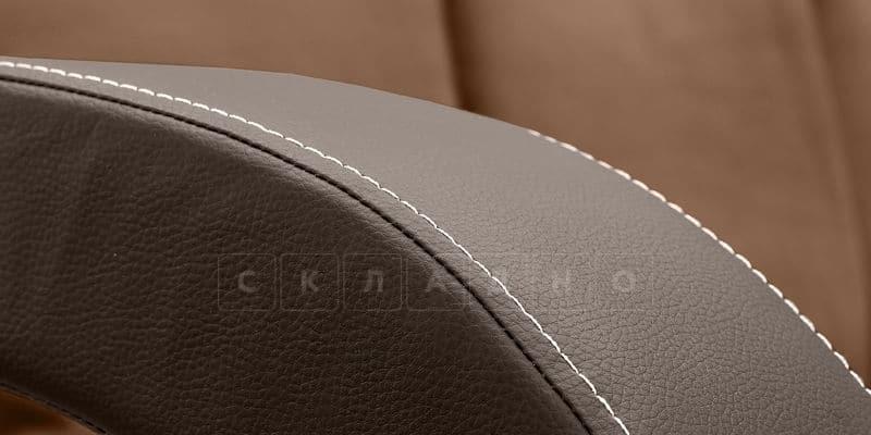 Диван Мадрид велюр коричневый фото 5 | интернет-магазин Складно
