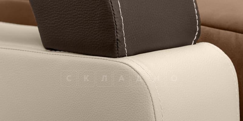 Диван Мадрид велюр коричневый фото 6 | интернет-магазин Складно
