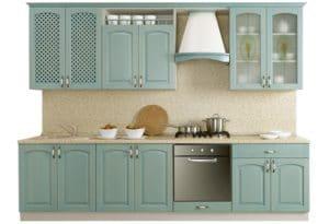 Кухонный гарнитур Массив-Люкс 2400 В 43270 рублей, фото 1   интернет-магазин Складно