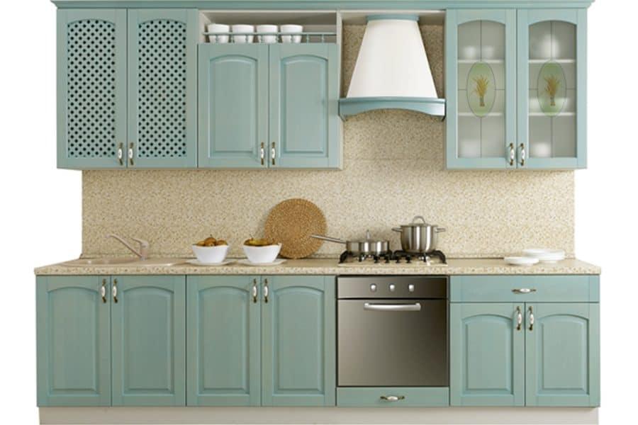 Кухонный гарнитур Массив-Люкс 2400 В фото | интернет-магазин Складно