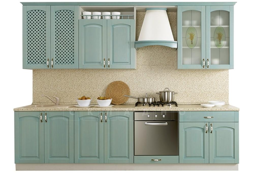 Кухонный гарнитур Массив-Люкс 2400 В фото 1 | интернет-магазин Складно