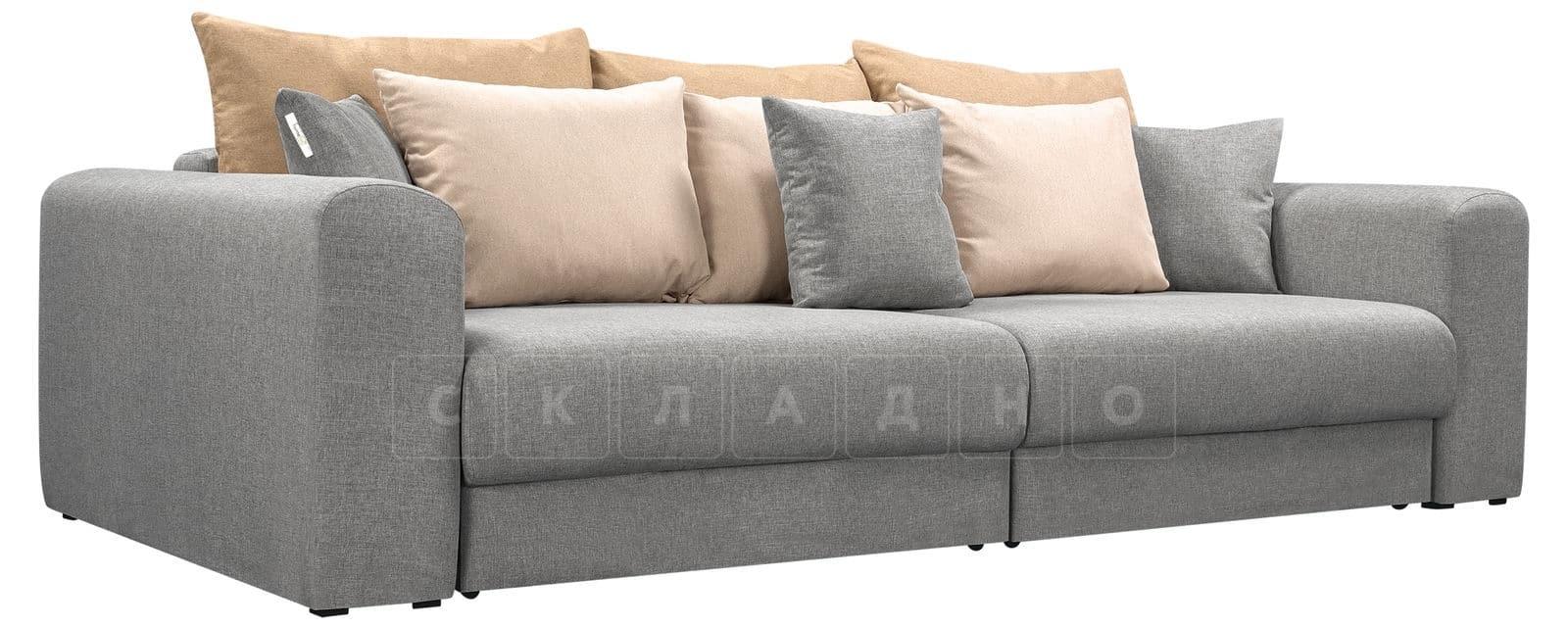Диван Медисон серый 244 см фото 1   интернет-магазин Складно
