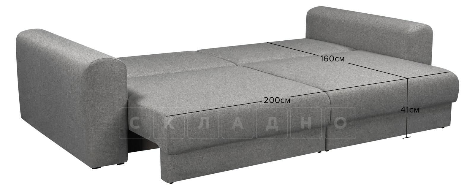 Диван Медисон серый 244 см фото 8   интернет-магазин Складно