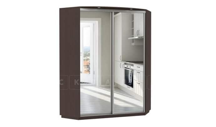 Угловой шкаф-купе двери с зеркалом фото 1 | интернет-магазин Складно
