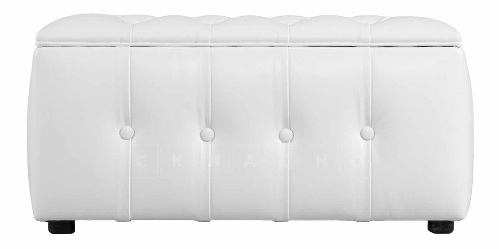 Пуф Малибу двухместный белый фото 2 | интернет-магазин Складно