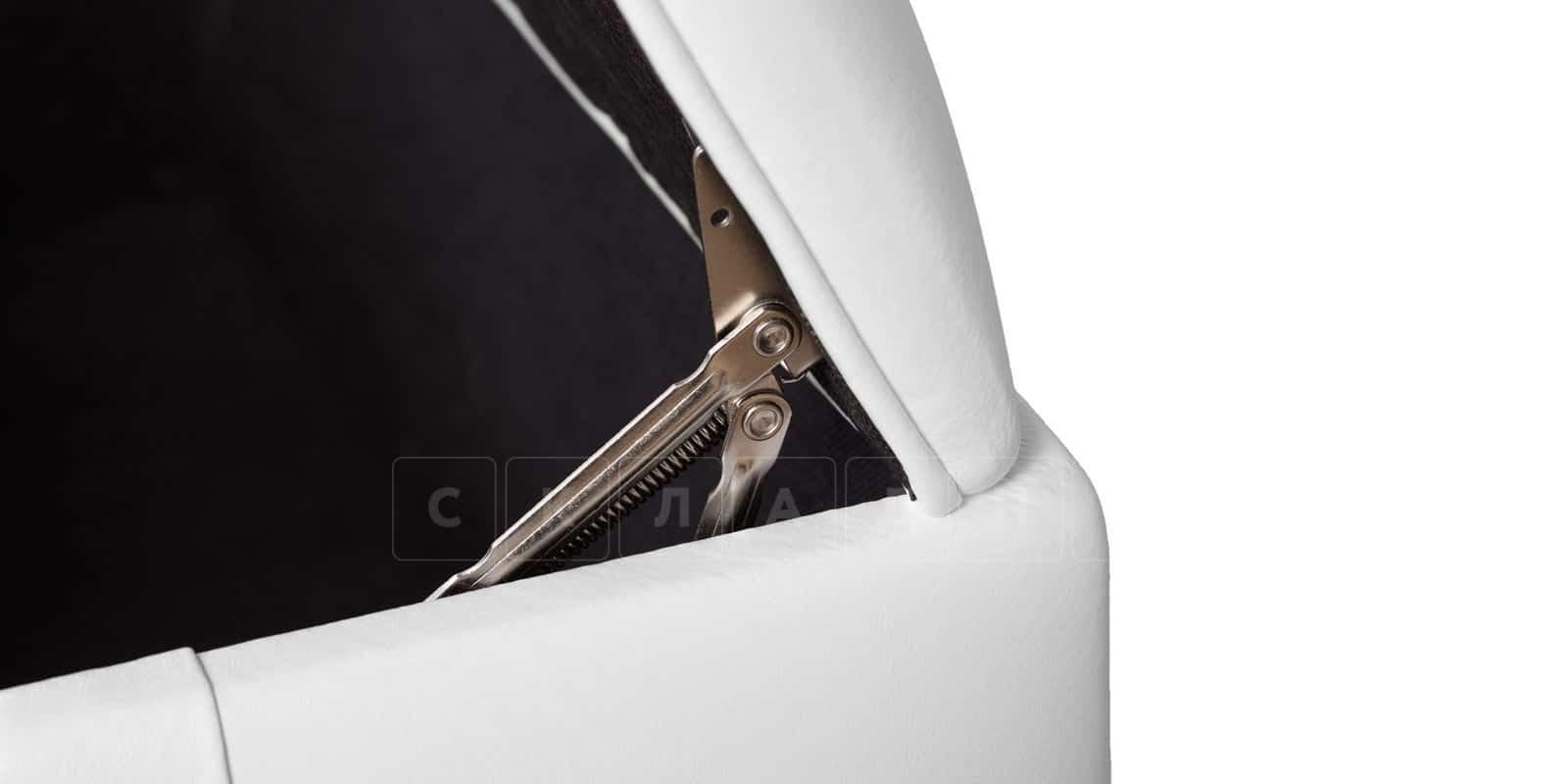 Пуф Малибу двухместный белый фото 5 | интернет-магазин Складно
