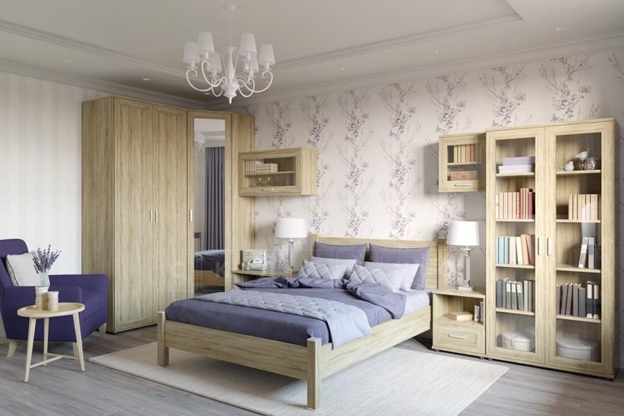 Спальный гарнитур Гарун-К вариант 2 дуб сонома фото 1 | интернет-магазин Складно