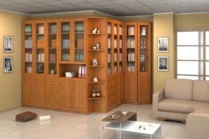 Библиотека Гарун вариант 16 дуб фото | интернет-магазин Складно