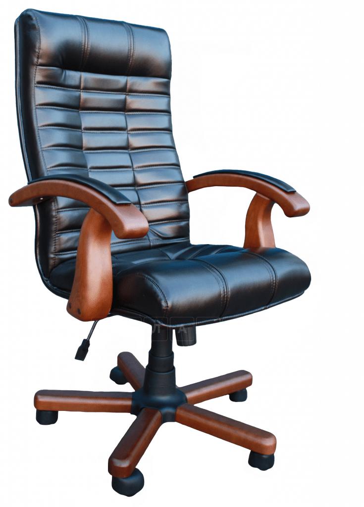 Кресло руководителя Атлант пвх фото 4 | интернет-магазин Складно