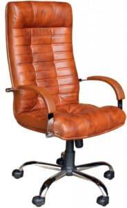 Кресло руководителя Атлант хром фото | интернет-магазин Складно