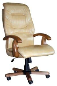 Кресло руководителя Блюз дерево фото | интернет-магазин Складно