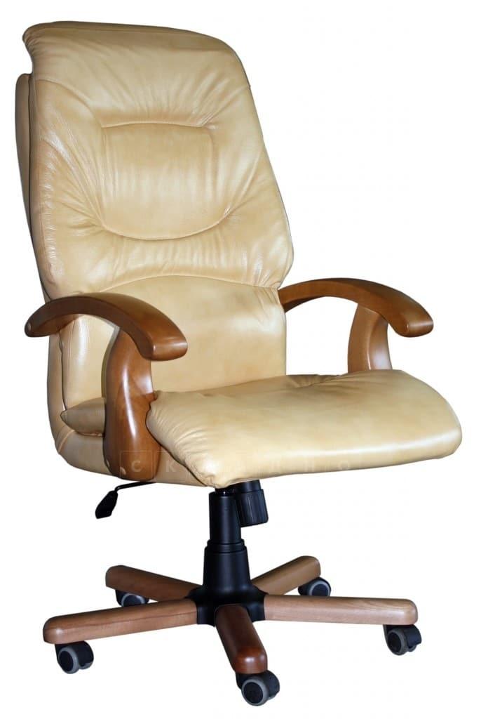 Кресло руководителя Блюз дерево фото 1 | интернет-магазин Складно