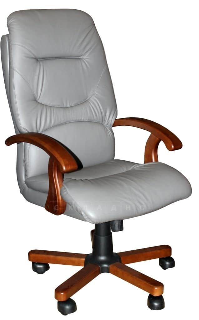 Кресло руководителя Блюз дерево фото 2 | интернет-магазин Складно