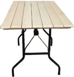 Складной стол Рейка прямоугольный 200 х 90 см. фото 3 | интернет-магазин Складно