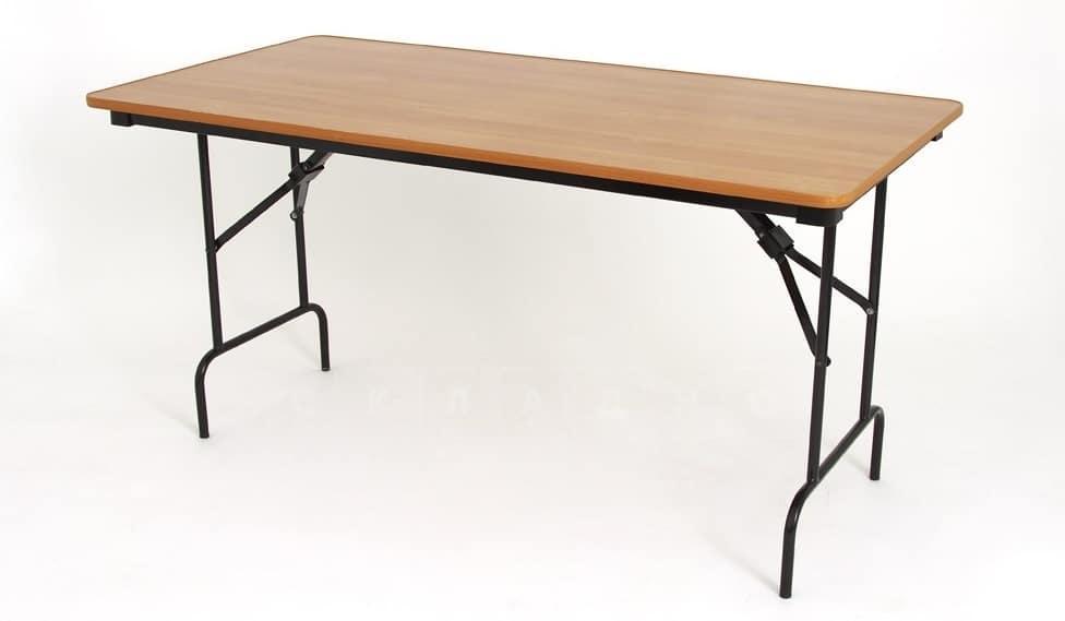 Складной стол Пьедестал прямоугольный 120 х 60 см. фото 1 | интернет-магазин Складно